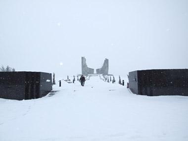 Самбековские высоты. Мемориал.