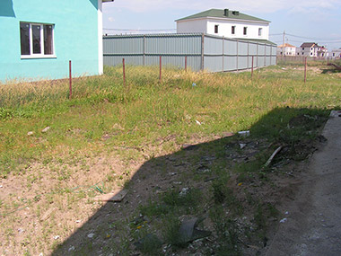 Ландшафтное проектирование территории поселка