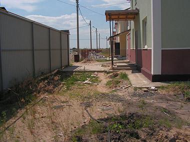 Поселок Беловодье. Частный проект.