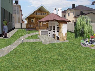 Пример ландшафтного проектирования