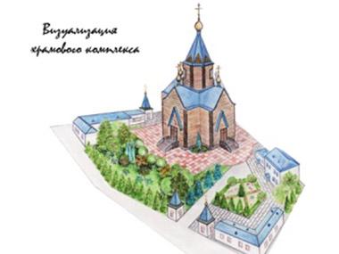 Визуализация храмового комплекса