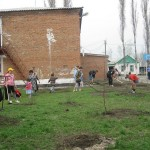 благоустройство территории детского дома